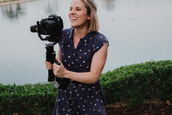 Samantha Sanderson - Hunter Valley Wedding Videographer and Editor
